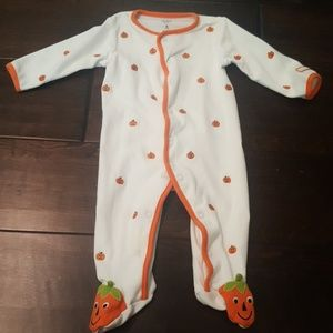 Carter's my first Halloween footed onesie